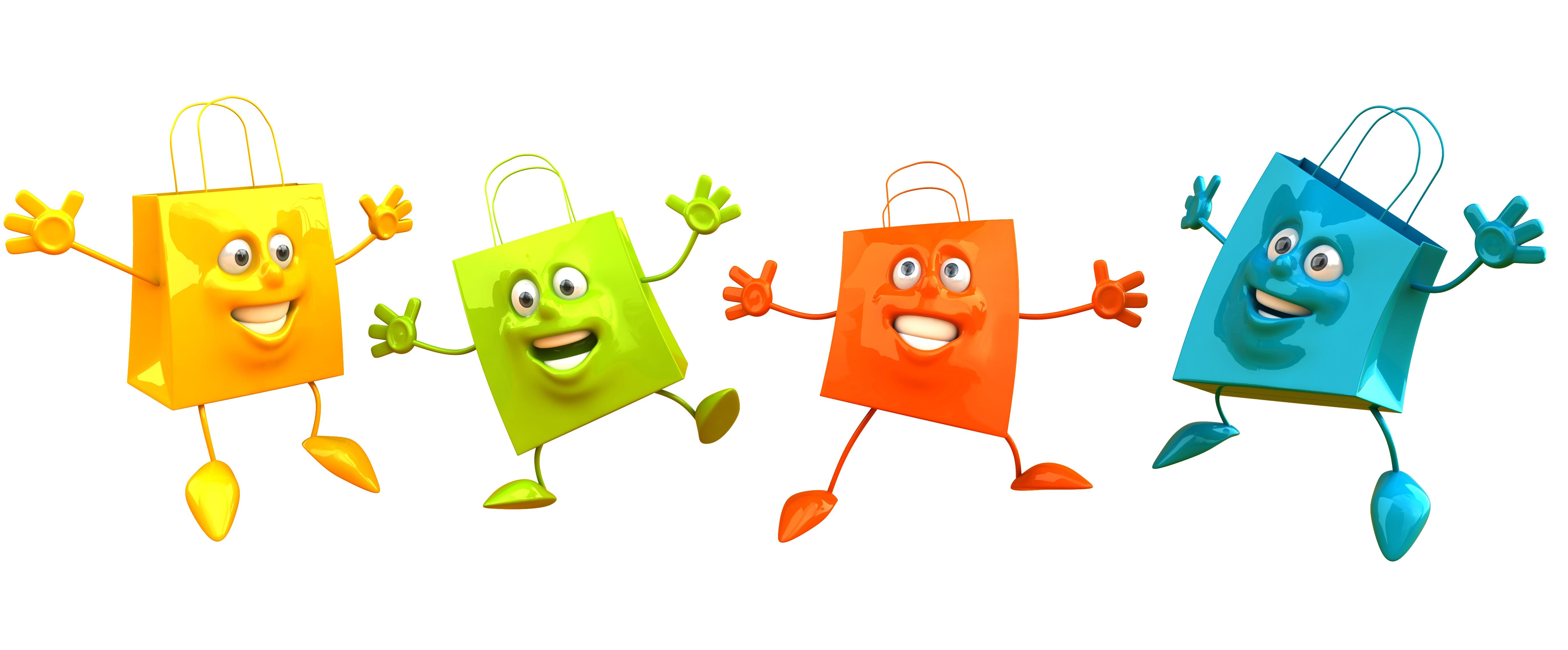 4-einkaufstaschen-die-glücklich-sind-und-sich-freuen